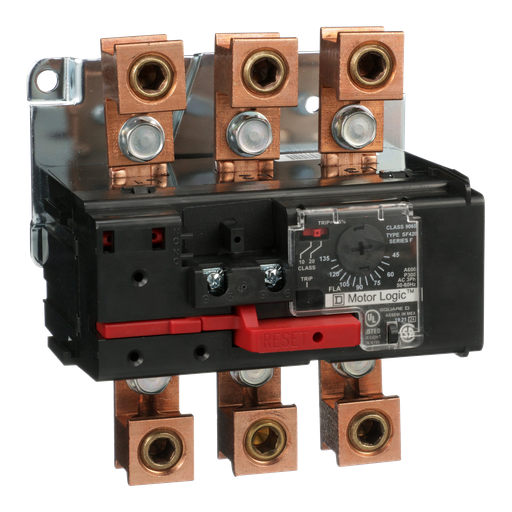 Mayer-Overload Relay, Motor Logic, solid state overload relay, NEMA Size 4, 3 pole, 45A to 135A, 600VAC, separate mount-1
