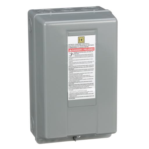 Mayer-Contactor, Definite Purpose, enclosure, for 8910DPA 50A contactors, NEMA 1-1