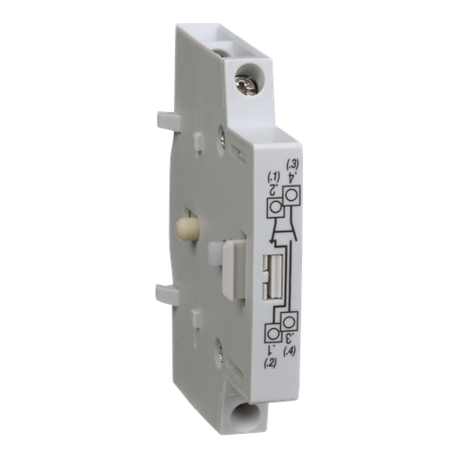 Mayer-MD motor disconnect switch, auxiliary contact module, 1NO and 1NC-1