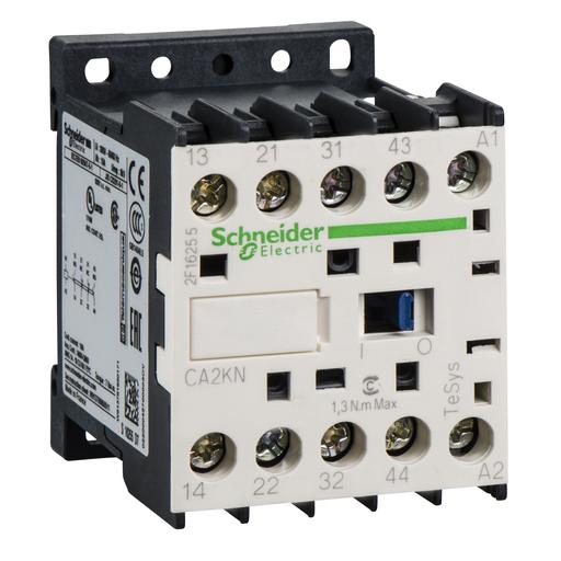 Mayer-TeSys K control relay - 2 NO + 2 NC - <= 690 V - 120 V AC coil-1