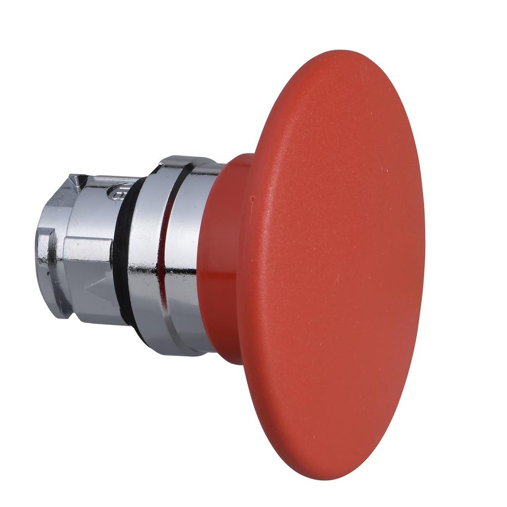 Mayer-Harmony XB4, Mushroom push button head Ø60, metal, red, Ø22, spring return-1