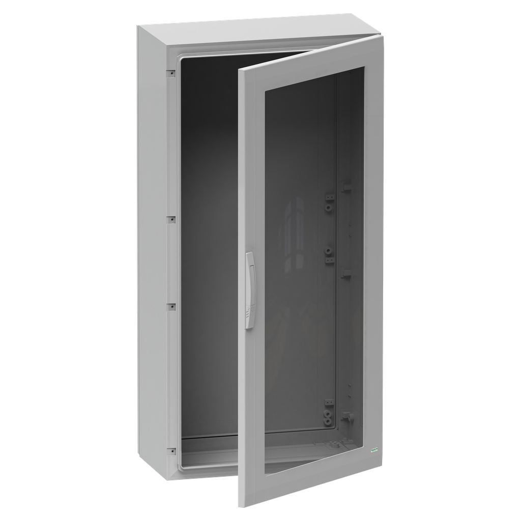 Mayer-Floor standing encl. polyester vers.PLA compl.sealed 500x500x320 IP65 glazed-1