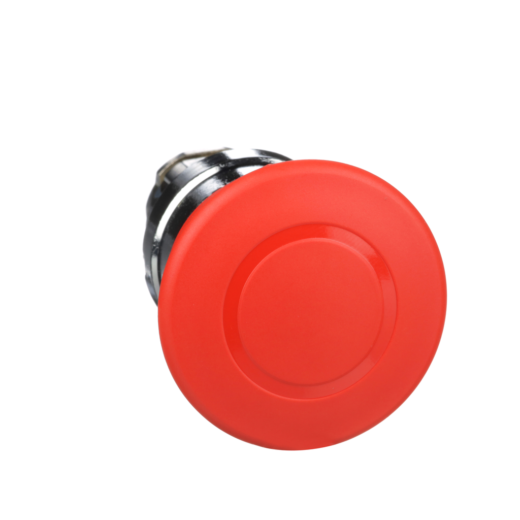 Mayer-Harmony, 22mm Push Button, emergency stop head, trigger and latching push pull, red, 40 mm mushroom, unmarked-1