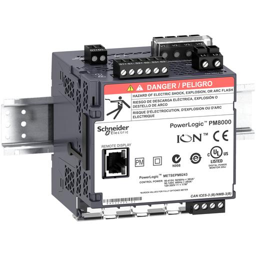 Mayer-PowerLogic PM8000 - PM8243 DIN rail mount meter - intermediate metering-1