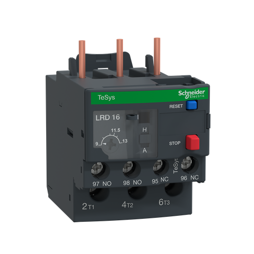 Mayer-TeSys LRD, thermal overload relay, 9 to 13 A, class 10A-1