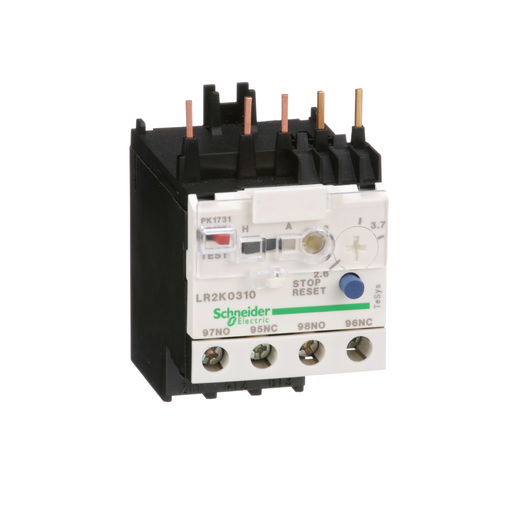 Mayer-TeSys K, differential thermal overload relay, 2.6 to 3.7 A, class 10A-1