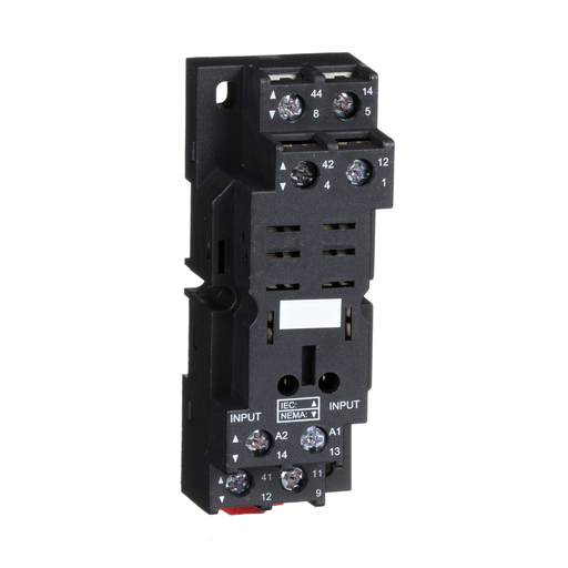 Mayer-Zelio, plugin relay socket, mixed contact, 16 A, 250 V, screw clamp, for RPM2 relays-1