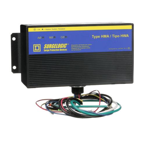 Mayer-Surge protection device, Surgelogic, HWA, 50kA, 480Y/277VAC, 3 phase, 4 wire, NEMA 4X-1