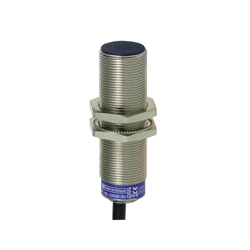 Mayer-inductive sensor, XS6, cylindrical, M18, Sensing 8 mm, 2 meter cable-1