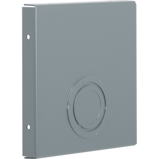 Mayer-Wireway, Square-Duct, 6 inch by 6 inch, closing plate, with knock outs, N1 paint, NEMA 1-1