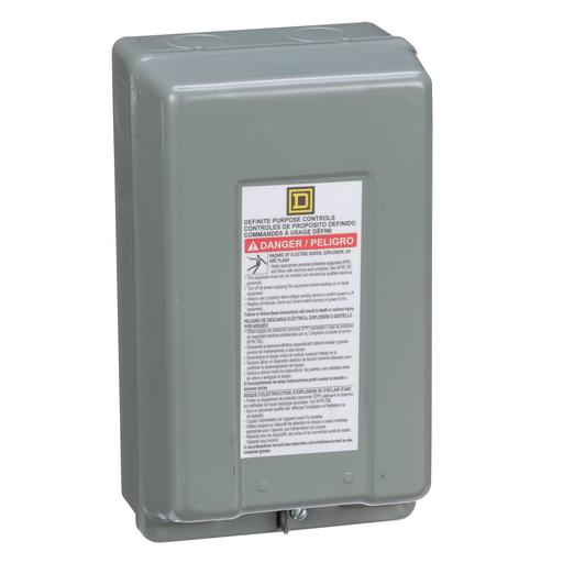 Mayer-Contactor, Definite Purpose, enclosure, for 8910DP/DPA 20A to 40A contactors, NEMA 1-1