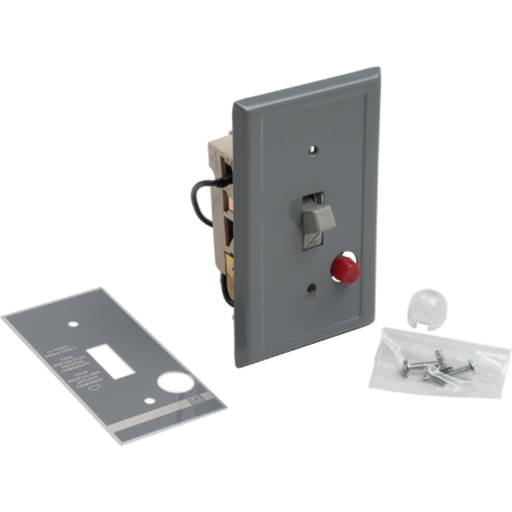Mayer-FHP Manual Starter - Flush Mount - 2P - Toggle Operated - Red Indicator - 277VAC-1