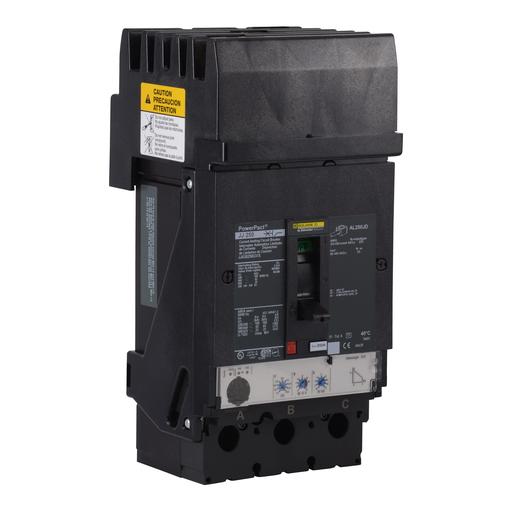 Mayer-Circuit breaker, PowerPact J, I-Line, Micrologic 3.2, 250A, 3 pole, 25kA, 600VAC, 250VDC, phase ABC-1