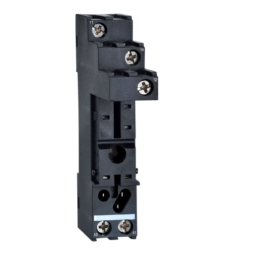 Mayer-Harmony, Socket, for RSB1A relays, 12 A, screw connectors, separate contact-1