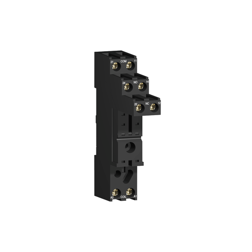 Mayer-Harmony, Socket, for RSB1A/RSB2A relays, 10 A, screw connectors, separate contact-1