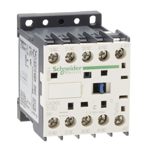 Mayer-TeSys K control relay - 3 NO + 1 NC - <= 690 V - 24 V DC standard coil-1