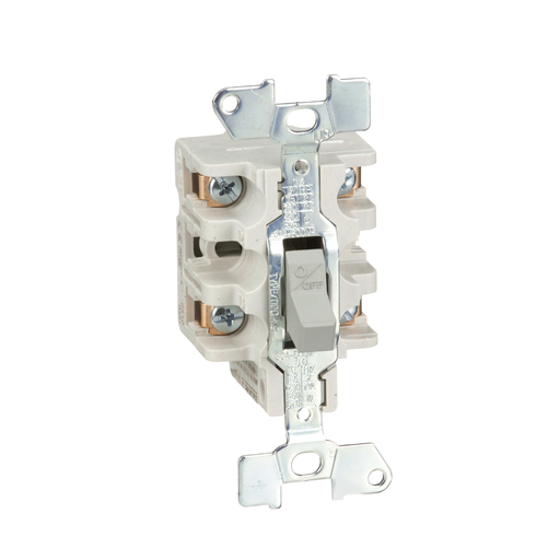 Mayer-Switch, manual, 30A, 2 pole, 3 HP at 575 VAC, single phase, toggle operated, no indicator, open style-1