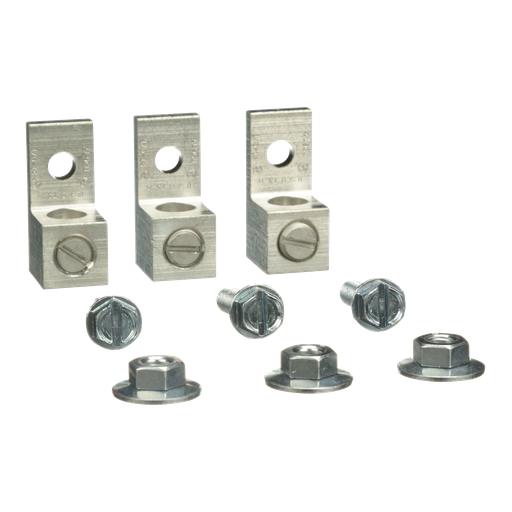 Mayer-Mechanical Lug Kit - 100A - 1 or 3Ph Delta Pri-1Ph or 3Ph Delta Sec Transformer-1