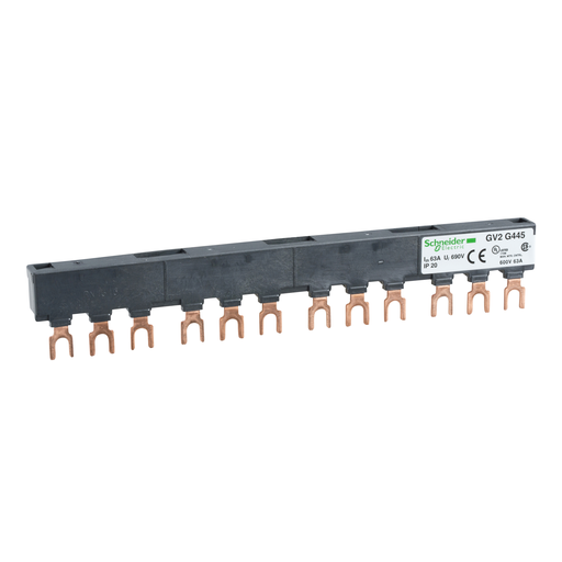 Mayer-Linergy FT - Comb busbar - 63 A - 4 tap-offs - 45 mm pitch-1