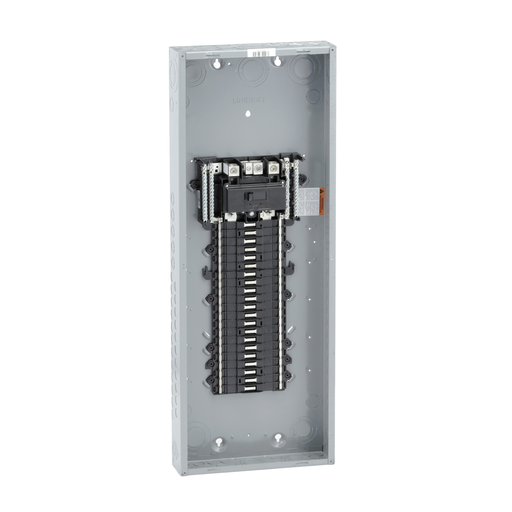 Mayer-Load center, QO, 1 phase, 42 spaces, 52 circuits, 200A convertible main breaker, NEMA1, UL-1