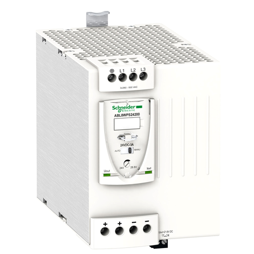 Mayer-Regulated Switch Power Supply, 3-phase, 380..500V AC, 24V, 20 A-1