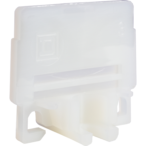 Mayer-Terminal block, Linergy, end barrier, natural color, for 9080GK6 terminal block-1