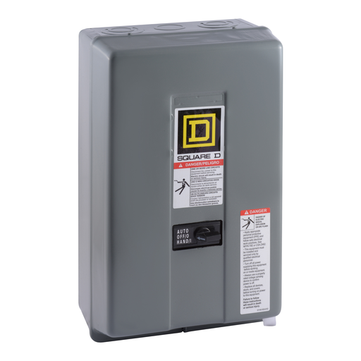 Mayer-Contactor, Type LX multipole lightling, mechanically held, 30A, 4 pole, 600 V, 110/120 VAC 50/60 Hz coil, NEMA 1-1