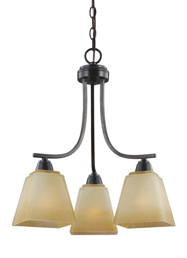 SEG 3213003-845 3 LIGHT CHANDELIER