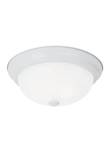 SEG 75943-15 3E LIGHT CEILING FLUSH WHT