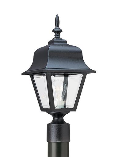 SEG 8255-12 OUTDOOR POST LANTERN 1 LIGHT