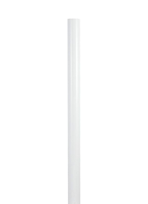 Sea Gull Lighting 8102-15 3 x 84 Inch Steel White Lighting Post