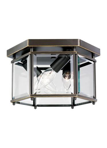 SEG 7648-782 3 LIGHT BOUND GLASS CEILING LIGHT