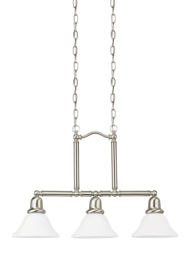 SEG 66061-962 3L PENDANT BRUSHED NICKEL