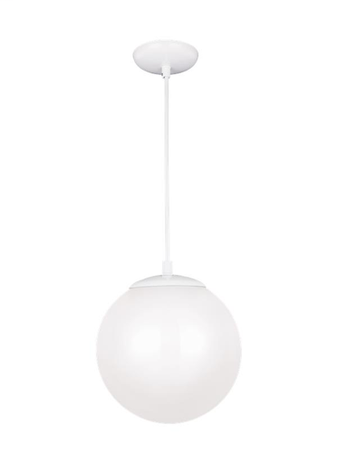 SEG 6020-15 SINGLE-LIGHT WHITE PENDANT