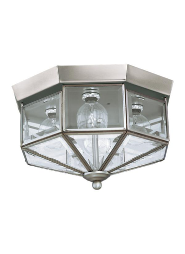 SEG 7662-962 CLOSE TO CEILING 4L BRUSHED