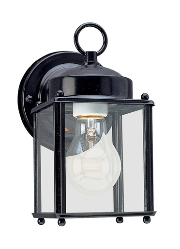 SEG 8592-12 OUTDOOR WALL 1 LIGHT BLACK