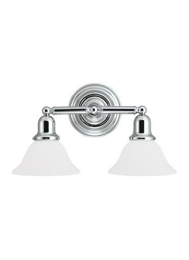 SEG 44061-05 2 LIGHT SUSSEX WALL/BATH