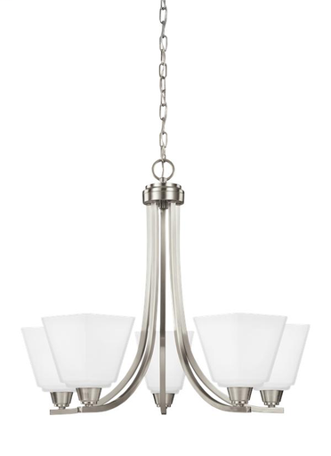 SEG 3113005-962 5 LIGHT CHANDELIER
