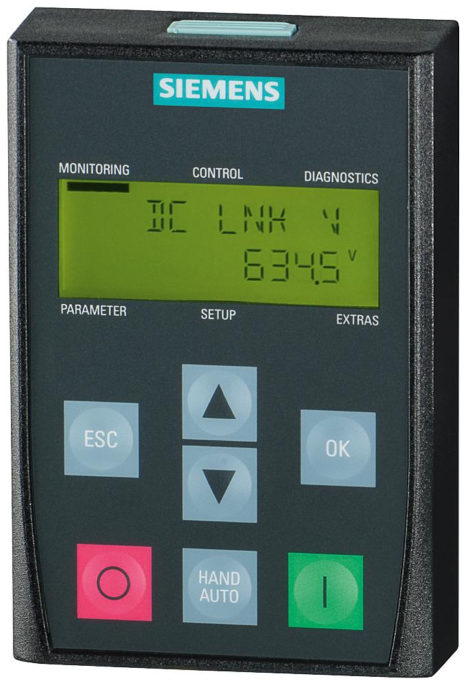 Siemens Controls,6SL32550AA004CA1,SINAMICS G120 BASIC OPERATOR PANEL