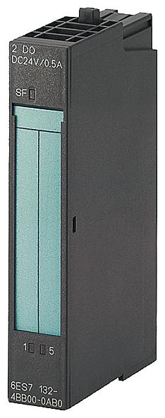 Siemens Industry 6ES71344FB010AB0 15 mm 24 VDC 12 Bit 2-Input PLC Analog Electronic Module
