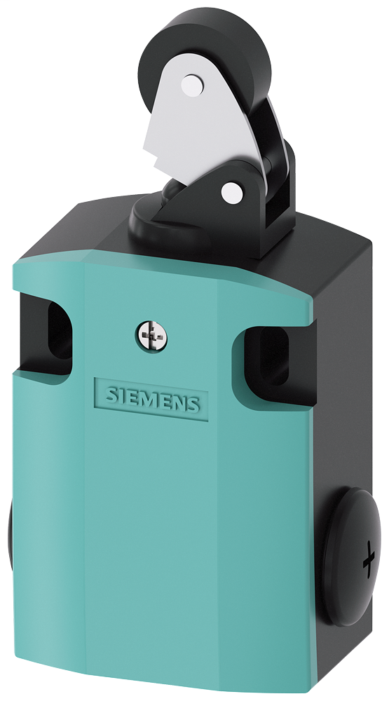 Siemens Industry 3SE51220CE01 M20 x 1.5 Metal 1NO 1NC Snap Action Roller Lever Limit Switch