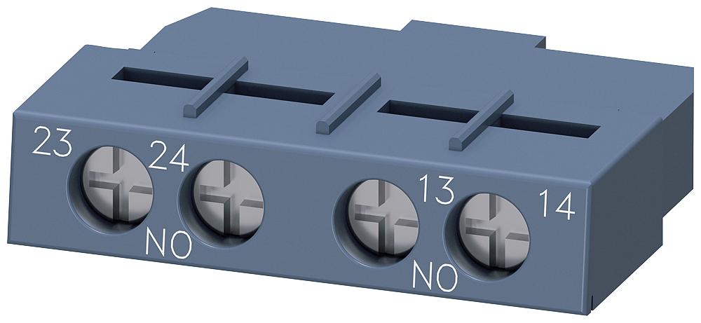 Siemens Industry 3RV29011F 2NO Circuit Breaker Transverse Auxiliary Switch