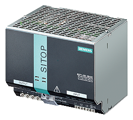 Siemens Industry 6EP14363BA00 400 to 500 VAC Input 24 VDC 20 Amp Output Stabilized Power Supply