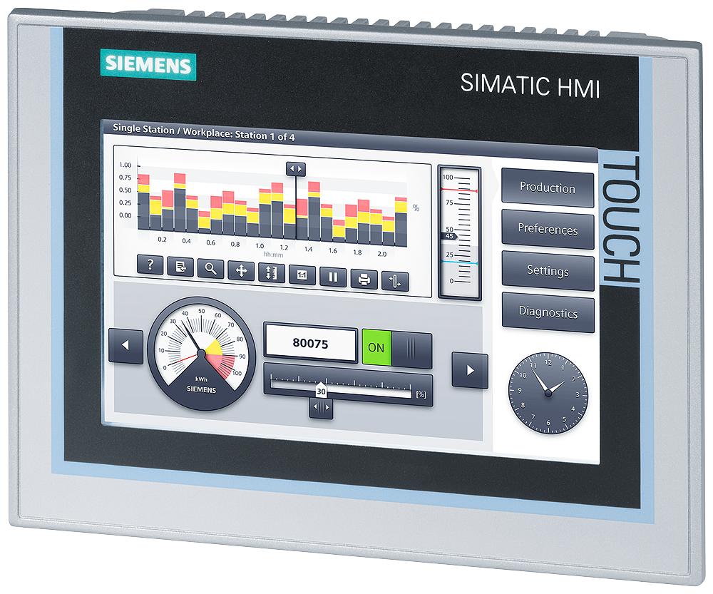 HMI TP700 Comfort, CE6.0, 7 in. TFT, 16: