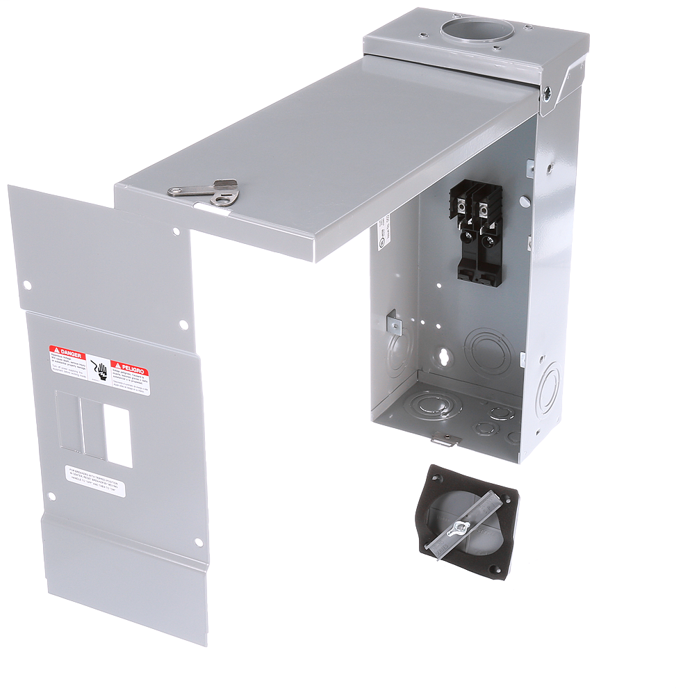 Siemens Industry W0204ML1125CU 120/240 VAC 125 Amp 1-Phase 3-Wire NEMA 3R Main Lug Load Center