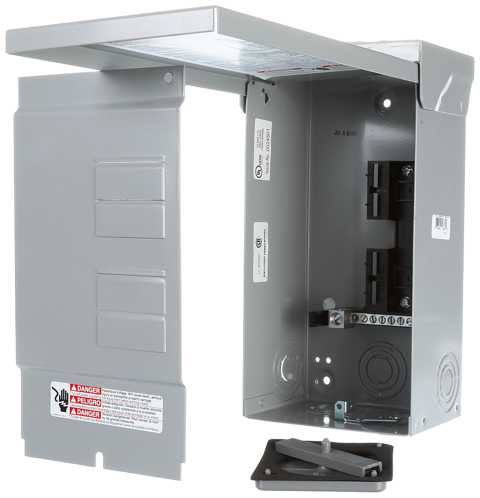 Siemens Industry W0408ML1125 120/240 VAC 125 Amp 4-8 Circuit 1-Phase 3-Wire NEMA 3R Main Lug Load Center