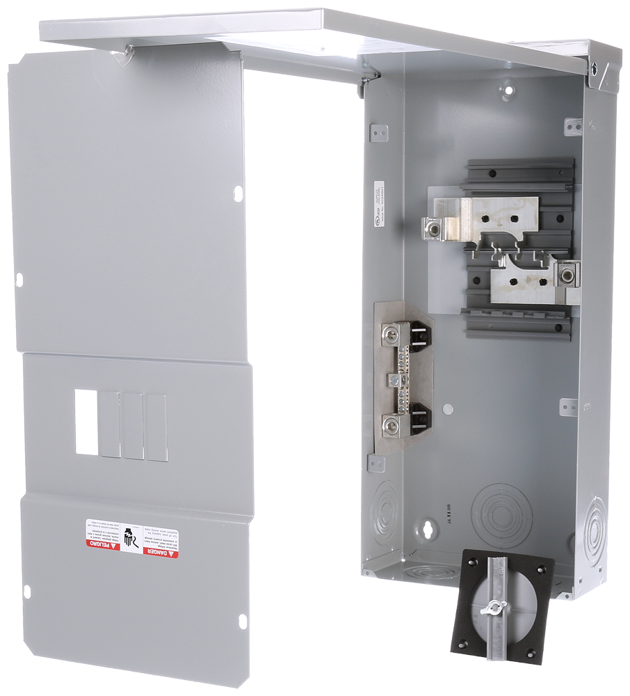 "Siemens W0406ML1225CU 10 x 4-1/8 x 23"" 120/240 VAC 225 Amp NEMA 3R Circuit Breaker Enclosure"