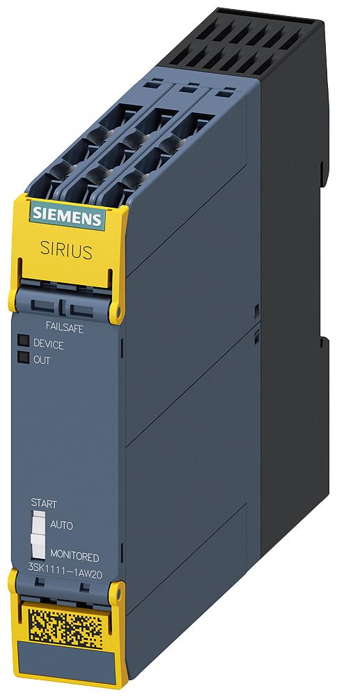 Safety Relay,3NO,1NC,110-230VAC,Screw
