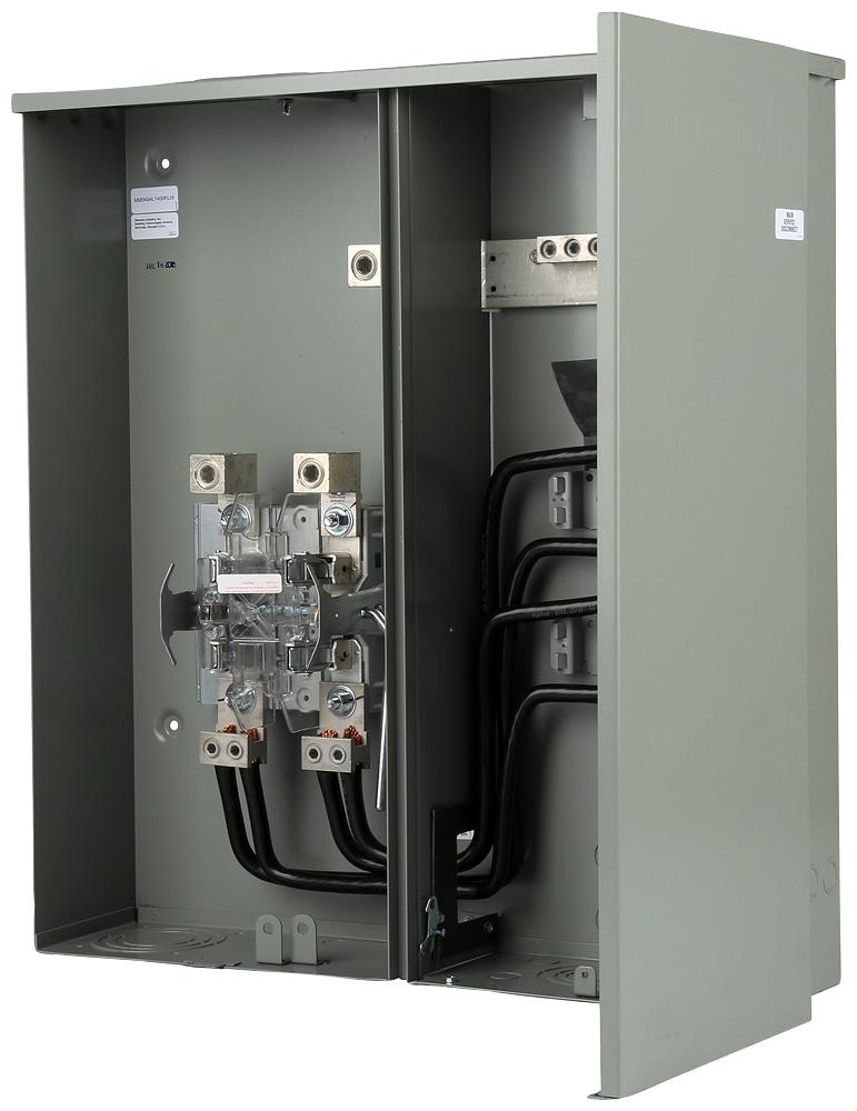 Siemens Industry MM0404L1400RLM 120/240 VAC 400 Amp 1-Phase 22 kA 3-Wire 2-Circuit Ringless Meter Main