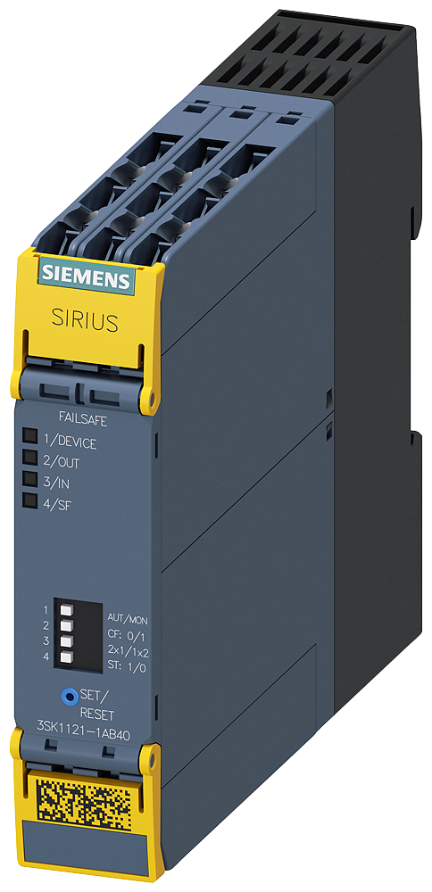 SAFETY RELAY,3NO+1NC,24VDC,SCREW